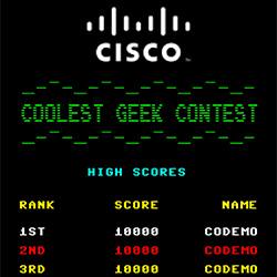 high scores CISCO-sito